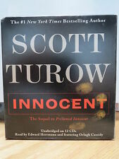 INNOCENT by Scott Turow (2010, CD, Unabridged)