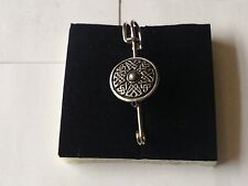 "and Kilt Pin Pewter 3"" 7.5 cm Celtic Shield code dr69 Scarf , Brooch"
