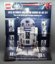 LEGO Star Wars Poster von R2-D2 - 10225 Limited Edition - NEU und unbenutzt !