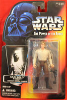 Star Wars Power of the Force POTF Red Card Han Solo in Carbonite