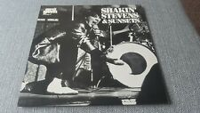 SHAKIN STEVENS AND THE SUNSETS   ORIGINAL 1973 DECCA EMERALD GEM LP EX