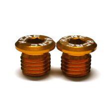 gobike88 KCNC Pivot Bolts, 10mm for Rear Frame Brake Bolt Holes, Gold, E44