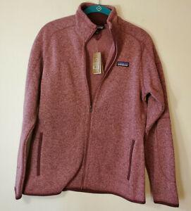 Patagonia Women's Better Sweater Full Zip Fleece Kiln Pink Sz M  25542 NWT