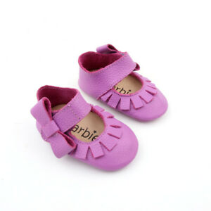 Starbie Baby Mary Janes Baby Sandals Purple Baby Moccasin Toddler Girls shoes