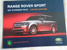 Range Rover Sport with Stormer Pack brochure Apr 2006 German text