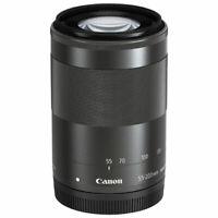 Brand New Canon EF-M 55-200mm f/4.5-6.3 IS STM Lens Black White Box*au