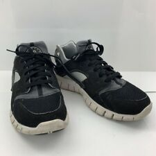 Nike Mens Huarache Running Shoes Black Lace Up Mid Top Round Toe 487654-012 9