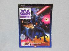 1993 THE ART Of STAR WARS GALAXY 132 Page TOPPS BooK Limited Edition MiNt +COA
