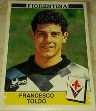 FIGURINA CALCIATORI PANINI 1994/95 FIORENTINA TOLDO ALBUM 1995