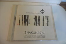 SHAKUHACHI JAPANESE TRADITIONAL MUSIC CD ZEN SPIRITUAL.