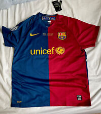 Barcelona 2008-09 Home Jersey Messi 10 Large *check dimensions in description*