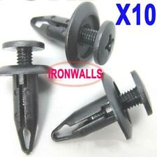 FOR FORD FOCUS INNER WHEEL ARCH LINING LINER SPLASHGUARD TRIM CLIPS 6mm Hole 10x
