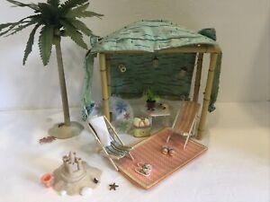 AG Mini Beach Scene accessories Euc American  girl