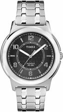 Timex TW2P61800, Men's Silvertone Expansion Band Watch, Indiglo, TW2P618009J