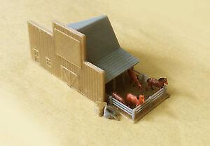 Outland Models Modelleisenbahn Miniatur Lackierung mit Pferden Spur Z 1:220