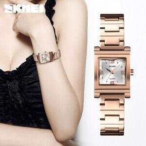 skmei female wristwatch luxury brand women stainless steel quartz watch 1388 30m
