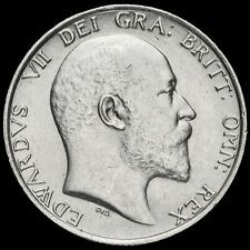 More details for 1910 edward vii silver shilling, g/ef