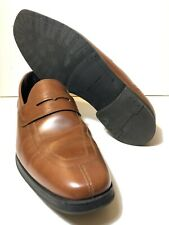 Cole Haan Men's 11 M Grand OS Signature Penny Loafers Brown C21437