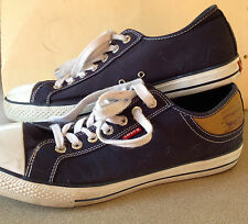 Levi Strauss Men's Blue Canvas Sneakers Size 12