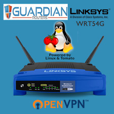 Linksys WRT54G Tomato Wireless VPN Router - OpenVPN PPTP L2TP