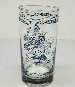 Blue Danube Old Town Blue Onion Glass Tumblers (4)