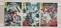 Hotwire Deep Cut 1 2 3 Complete Radical Comics 2009 Set Series Run Lot 1-3 VF/NM