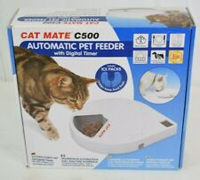 Cat Mate C500 Automatic Feeder Digital Timer For Cats And Small Dogs - New