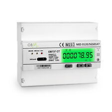 OB737 Multifunction 3 phase CT Modbus Meter MID B & D