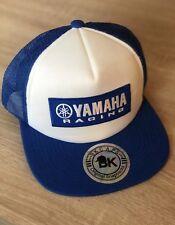 YAMAHA FACTORY RACING HAT CAP BMX BIKE SNAP BACK BK BRAND BLUE MX YZF YFZ RI R6