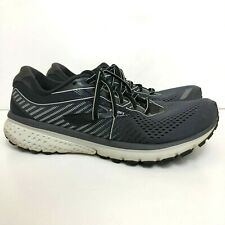 Brooks Ghost 12 Men's Size US 8.5 Medium (D) Running Shoes Black/Pearl/Oyster