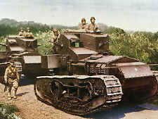 IMPERIAL JAPANESE ARMY MARK A WHIPPET Technical Evaluation 1918-1927 Japan Tank