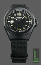 Traser H3 Traser P59 Essential S Black Nato Damenuhr 108212 Analog  Textil Schwa