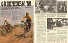 1969 Greenhorn 500 Mile Endurance Motorcycle Race - 5-Page Vintage Article