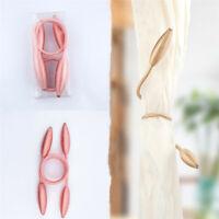 1pc Magnetic Curtain Hooks Rope Buckle Tie Backs Clips Holdbacks Curtain Decor