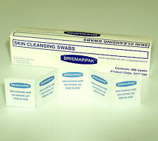5000 70% ISOPROPYL ALCOHOL IMPREGNATED WIPES SWABS CLEANING PAD RUBBING STERILE