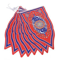 8Pcs/Set Ramadan Flags Eid Mubarak Muslim Bunting Hanging Flag Party Decoration