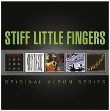 STIFF LITTLE FINGERS - ORIGINAL ALBUM SERIES 5 CD NEU
