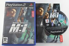 PLAY STATION 2 PS2 MISSION IMPOSSIBLE OPERATION SURMA COMPLETO PAL ESPAÑA