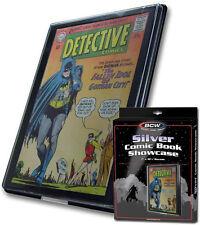 (1) BCW-CBS-SIL Silver Age Comic Book Showcase Show Case Display Frame Wall Art
