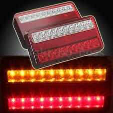 12V 20 LED TRAILER TRUCK CARAVAN BRAKE STOP INDICATOR TAIL LIGHT LAMP WATERPROOF