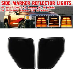 For 2006-2010 Hummer H3 Alpha/X/Championship Side Marker Corner Parking Lights