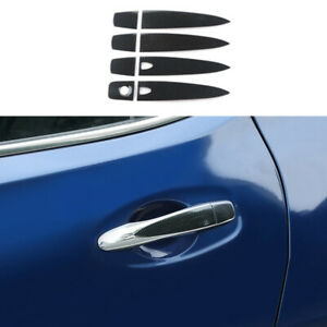 Rear Right Outside Door Handle w//o hole Details about  /For 07-12 Nissan Versa Black KH3 Front