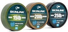 Nash SkinLink Hooklink NEW Skin Link Coated Braid Hook Link *Full Range*