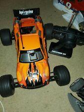 Used HPI RACING FIRESTORM 10t  STADIUM TRUCK with RADIO  1/10th 2WD rc car nitro