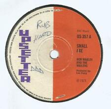 """BOB MARLEY AND THE WAILERS - SMALL AXE / ALL IN ONE         7""""VG+"""