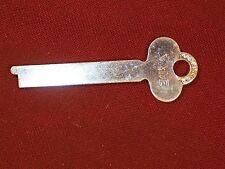 Yale Flat Steel Key Desk Cabinet Antique / Vintage Half Mortise Lock Hardware