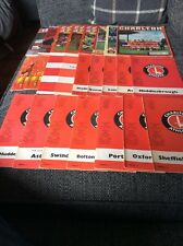 Charlton Athletic Home Programmes 1969 to 2010 (x24)