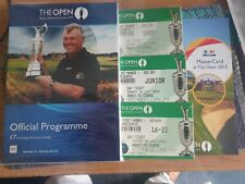 More details for 2012 open championship programme  + tickets & course map