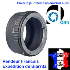 BAGUE MARQUE DÖRN  pour ADAPTER  OBJECTIF CONTAX ZEISS > Sony A7 A7R A7II A7RII
