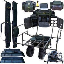 Luxus Karpfen Set Transport Trolley XXL Carp Barrow Angelkarre /& 3 Taschen Sha